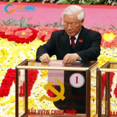 Hòm phiếu đại hội đảng 3