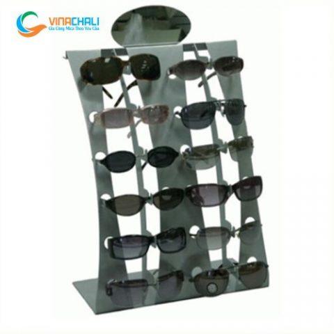 Kệ mica trưng bày mắt kính 11 2