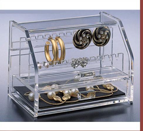 Hộp mica đựng trang sức chuyên để bàn