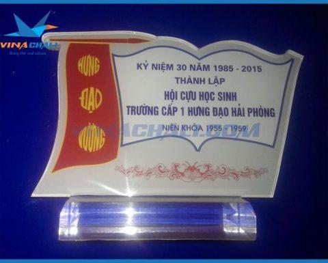 Kỷ niệm chương hội cựu học sinh 1